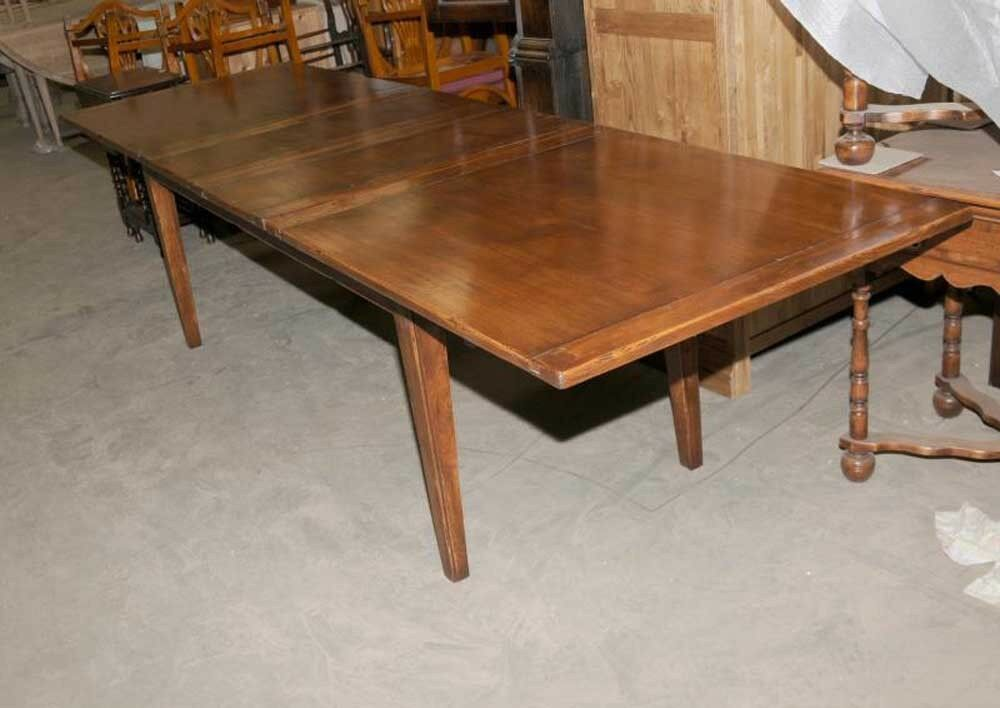 10 ft extending refectory table kitchen farmhouse diner ebay for 10 foot farm table