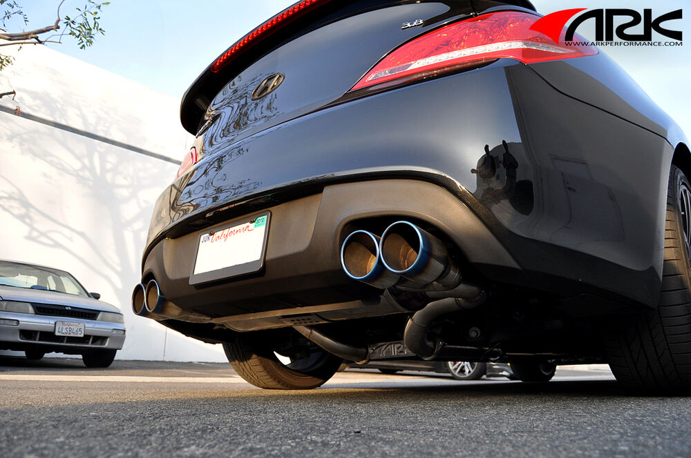 10 On Ark Performance Dt S Exhaust For Hyundai Genesis