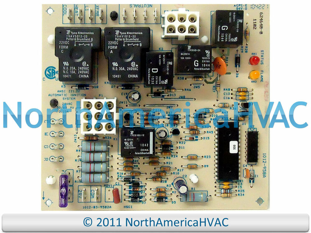 intertherm miller nordyne control circuit board 903429 ebay. Black Bedroom Furniture Sets. Home Design Ideas