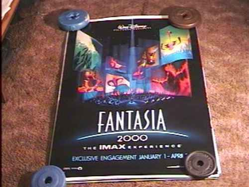 Movie Posters 2000: FANTASIA 2000 ROLLED 27X40 MOVIE POSTER DS DISNEY IMAX