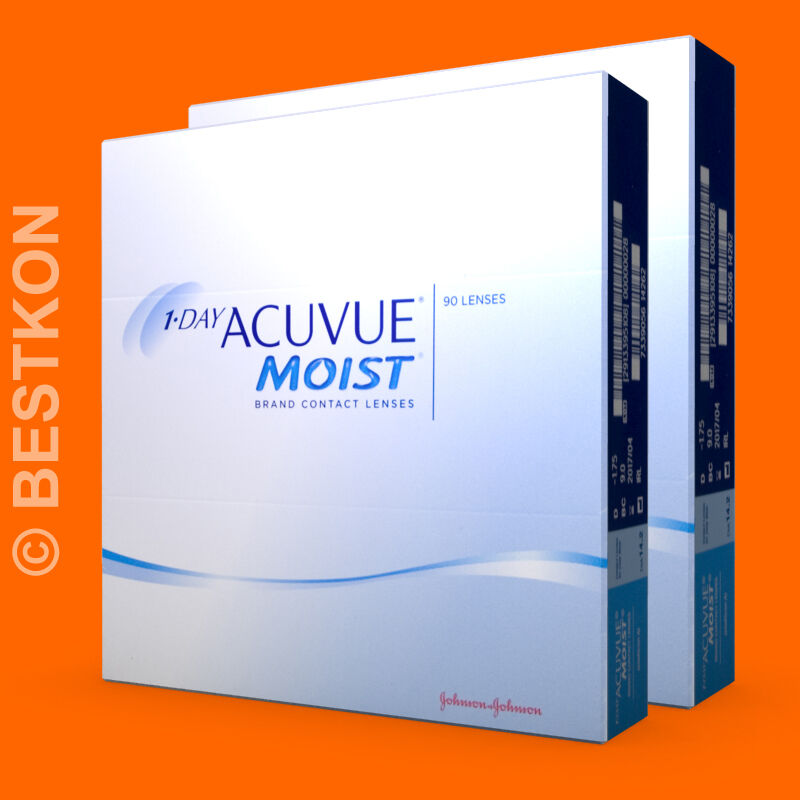 one day acuvue moist 2 x 90 kontaktlinsen ebay. Black Bedroom Furniture Sets. Home Design Ideas