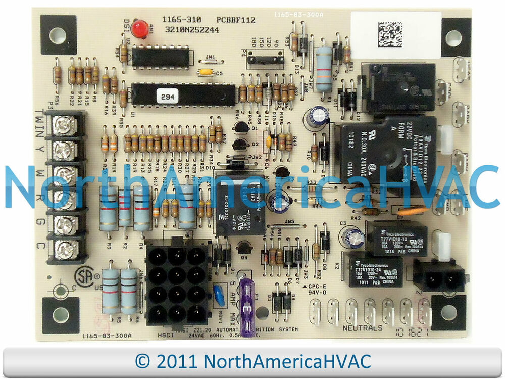 s l1000 goodman amana furnace control board 50a55 289 1165 310 ebay  at panicattacktreatment.co