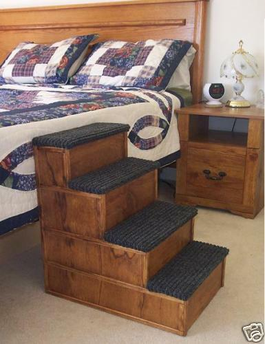 how to build a dog bed with steps