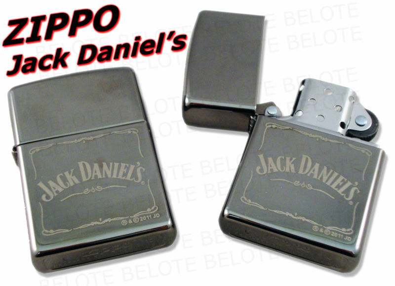 zippo jack daniel 39 s daniels black ice lighter 28012 new. Black Bedroom Furniture Sets. Home Design Ideas
