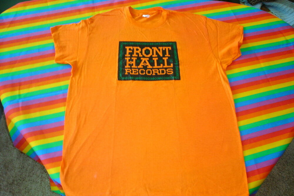 Vintage 70s record label tee shirt rock n roll ebay for Vintage record company t shirts