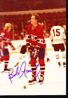 Bob Gainey Montreal Canadiens Auto Signed 3x5 Photo Group 2