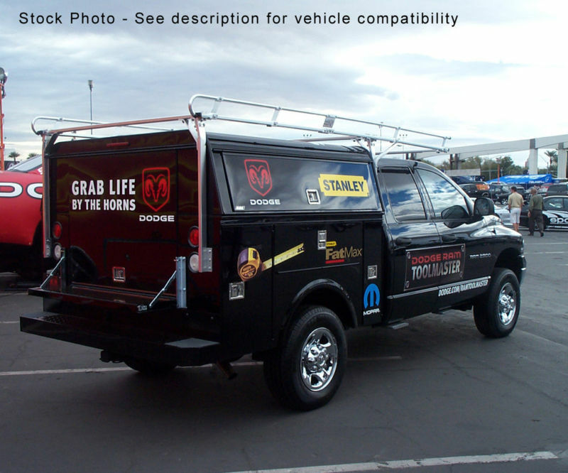 Service Utility Body Truck Ladder Rack 6 5 Bed Ext Cab Ebay
