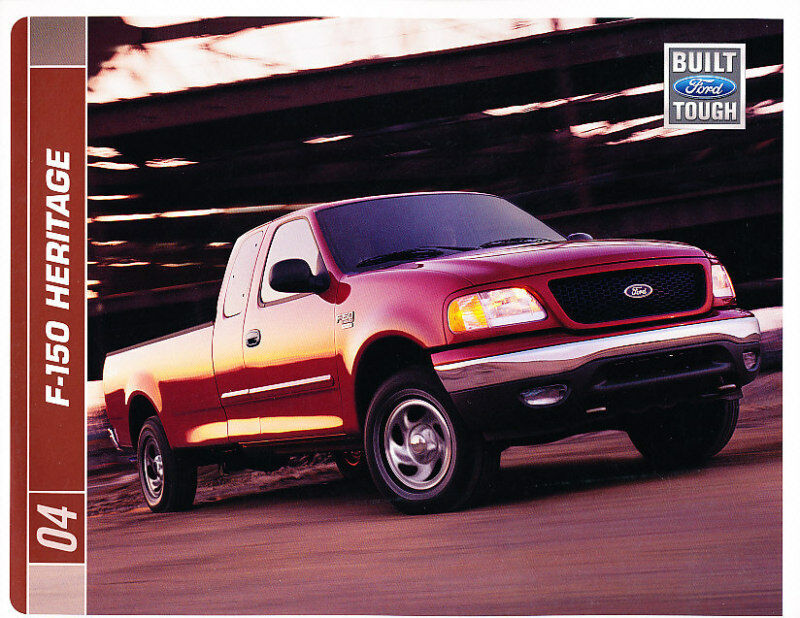 2004 ford f 150 heritage truck f series sales brochure ebay. Black Bedroom Furniture Sets. Home Design Ideas
