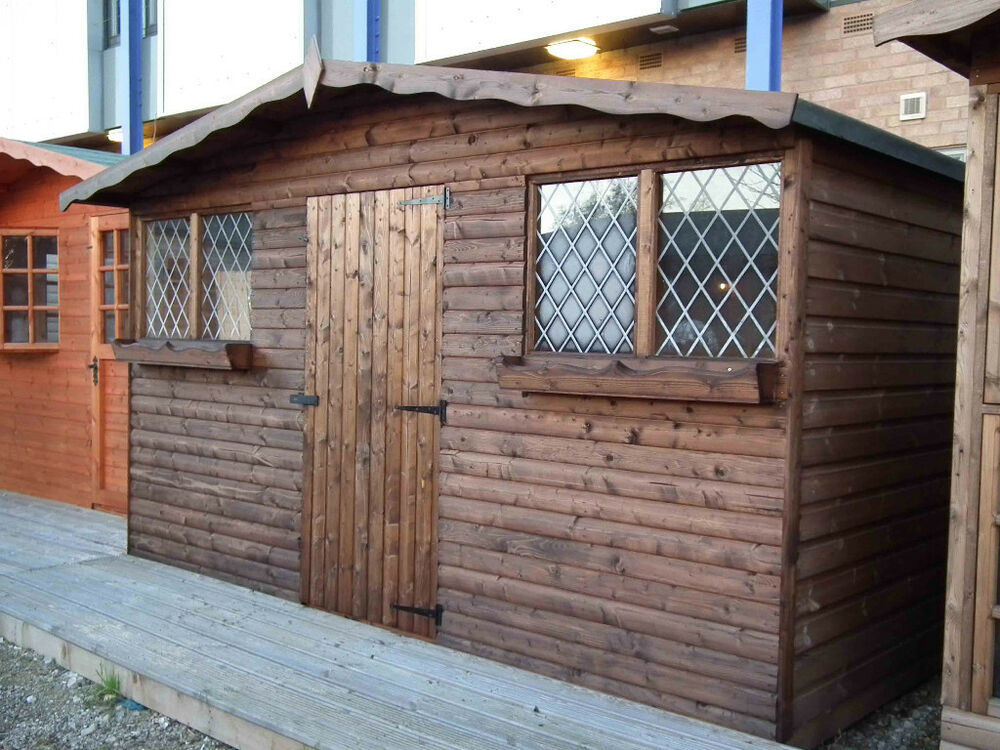 Garden Shed Summer House 12ft X 8ft Royal Adams