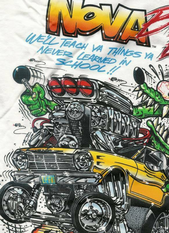 Chevy T Shirts >> Rat Fink Nova Chevy Chevrolet t shirt assorted sizes | eBay