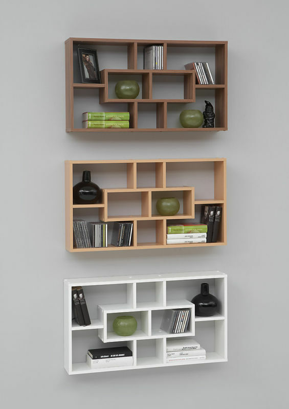 lasse display shelving decorative designer wall shelf ebay. Black Bedroom Furniture Sets. Home Design Ideas