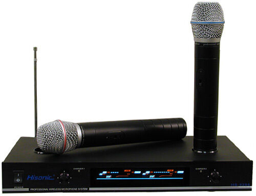hisonic hs8286 rechargeable wireless microphone system 6934920300336 ebay. Black Bedroom Furniture Sets. Home Design Ideas