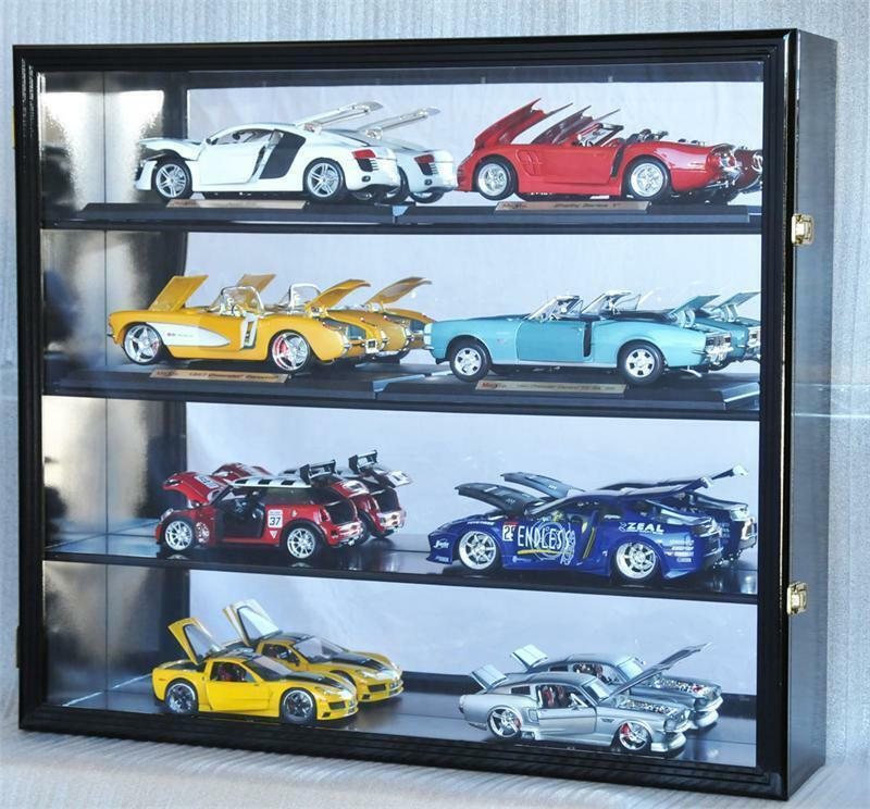 1 18 scale diecast car model hotwheel wall display case 98. Black Bedroom Furniture Sets. Home Design Ideas