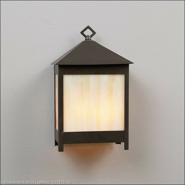 Large Mission style Wall Sconce 2 Light Mission 60 Watts in Dark Bronze C53279 eBay
