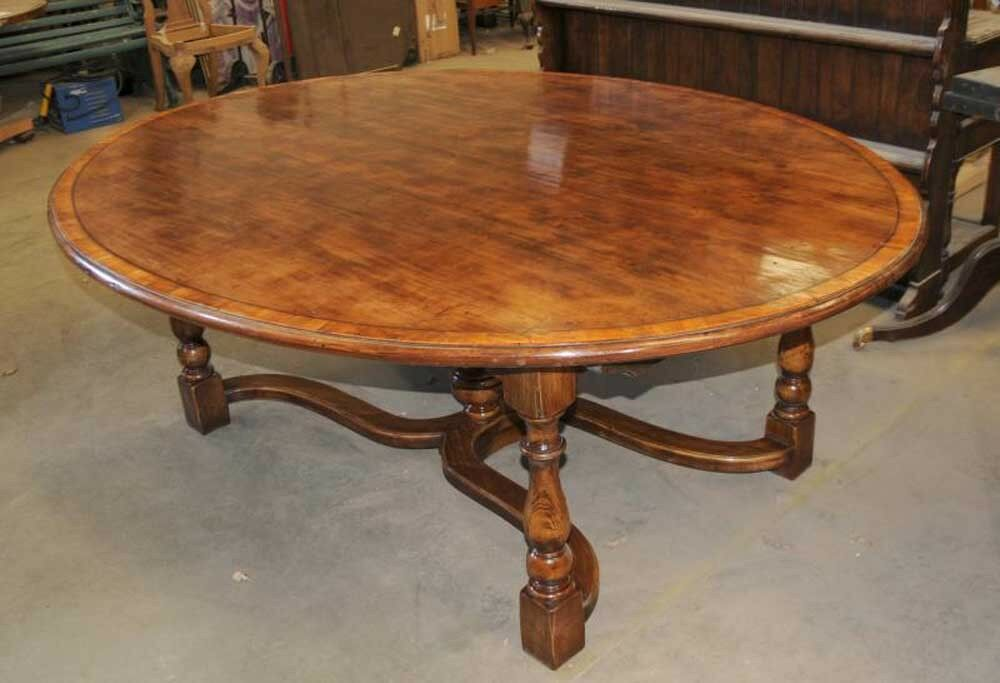 Oak kitchen table oak oval top refectory dining ebay for Oak kitchen table