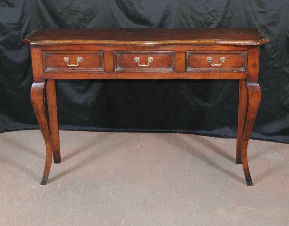 Farmhouse sideboard server cherry wood buffet ebay