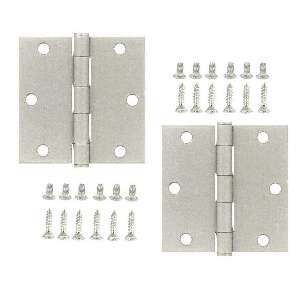 Stanley Hardware S821 058 3 1 2 Quot Square Satin Stainless