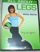 Mindy Mylrea All About Legs Workout DVD Gliding New