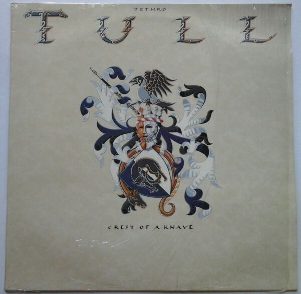 JETHRO TULL - CREST OF A KNAVE chrysalis CDL 1590 LP IT