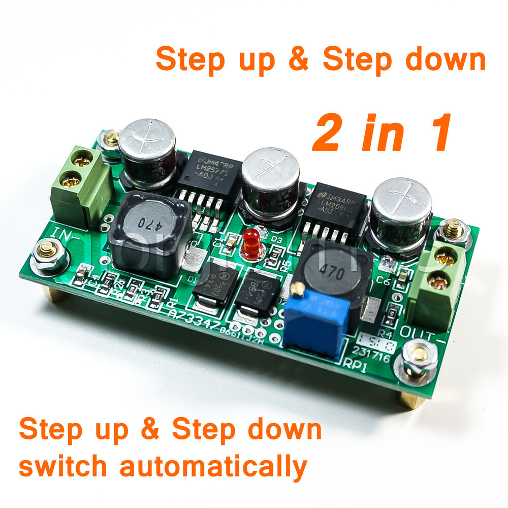 dc dc converter regulator step up step down 2 in 1 ebay. Black Bedroom Furniture Sets. Home Design Ideas