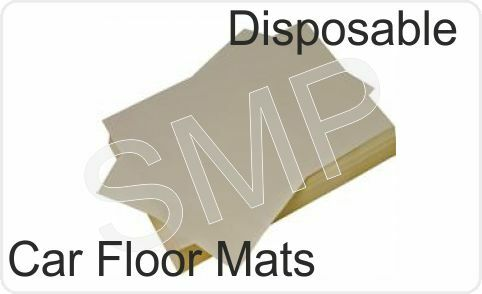 Disposable Paper Car Floor Mats Pack Of 250 With Free