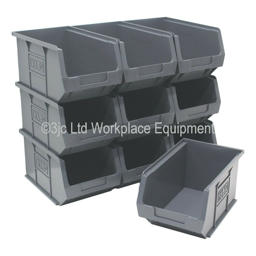 New british made 100 recycled plastic parts storage bins for Eco boxes