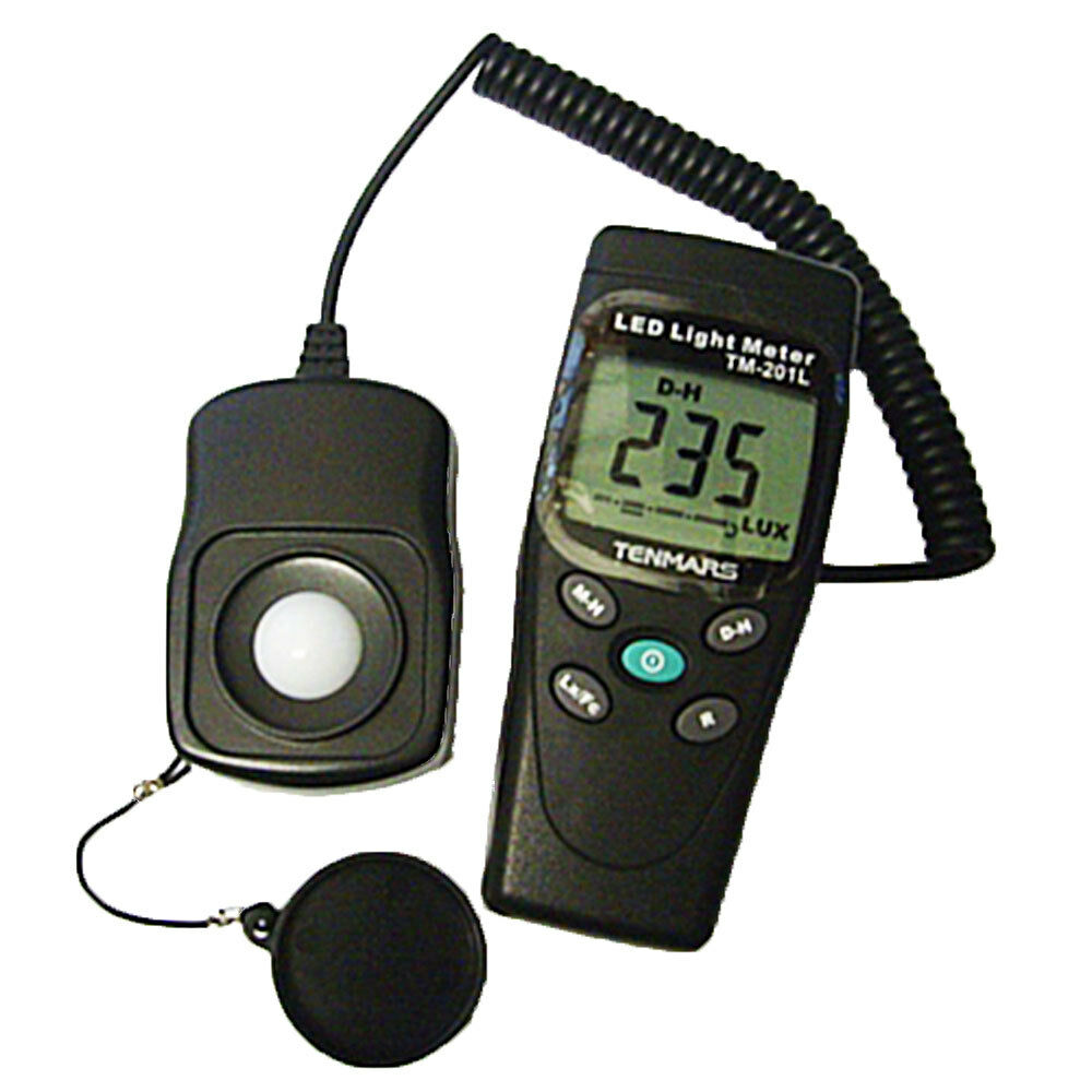 foot candle fc luxmeter with corrected white led light meter ebay. Black Bedroom Furniture Sets. Home Design Ideas