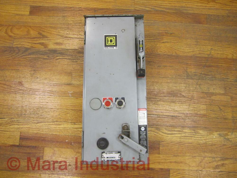 Square d 8538 sca24 combo motor starter 8538sca24 used for Square d combination motor starter