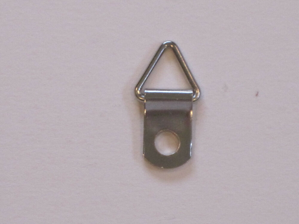 100 Triangle D Ring Strap Hanger Hangers Picture Framing