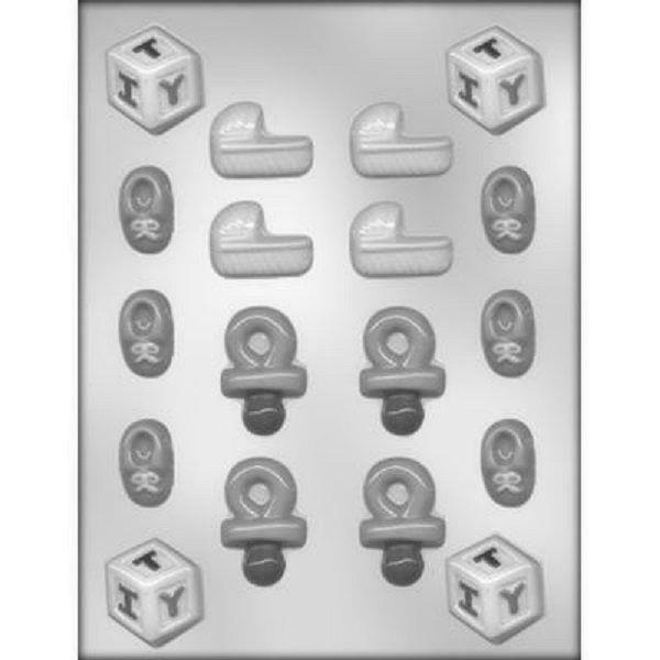 baby shower chocolate candy mold from ck 11587 new ebay
