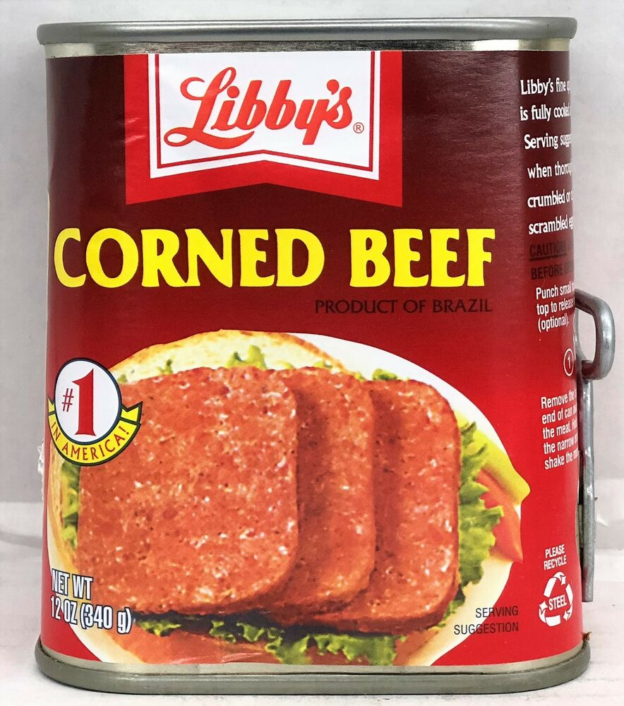 Libby 39 s corned beef 12 oz libbys ebay for What to do with salt beef