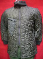 GERMAN ARMY GREEN COLD WEATHER QUILTED LINER FOR JACKET/PARKA *USED*