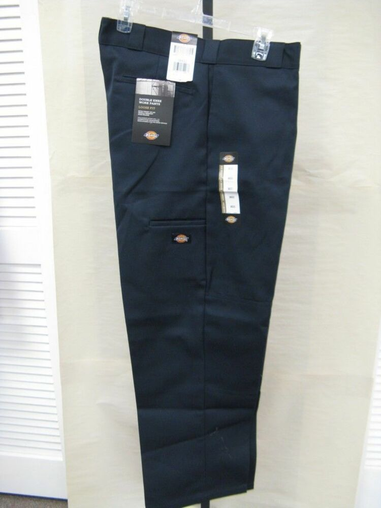 Sell Cell Phone >> New Dickies Men's Double Knee Work Pant Dark Navy Loose Fit Style# 85283DN | eBay