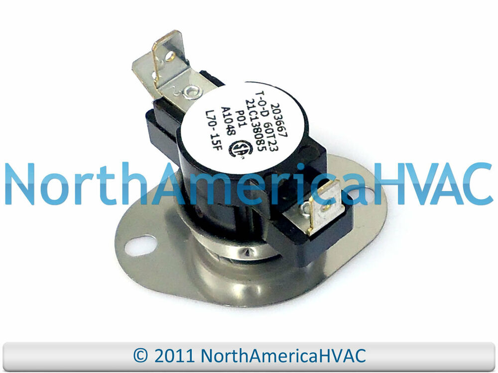 Trane American Standard Limit Switch L70 15f Tht744