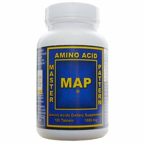 Map master amino acid pattern 120 tablets world s best muscle building