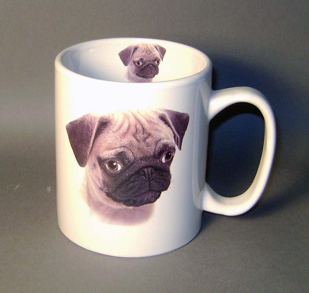 cute coffee mugs pug puppy large coffee mug ebay 30076