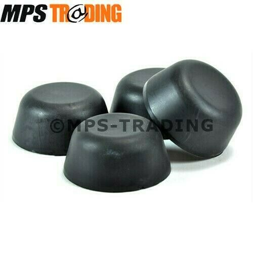 Land Rover Defender 90 110 130 Rubber Hub Caps 4 X