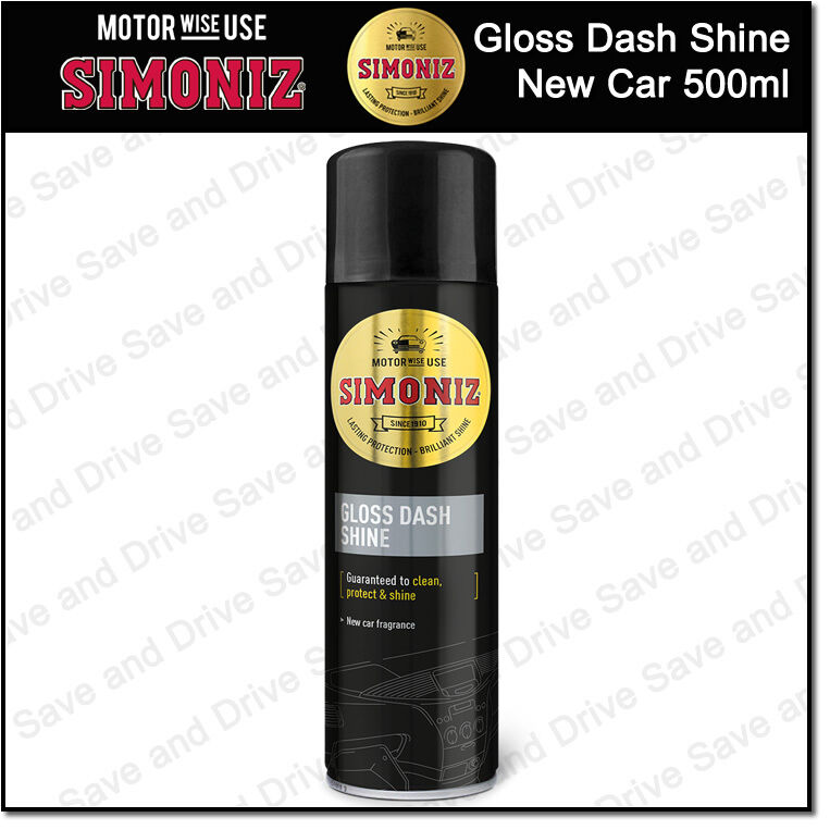 Simoniz Gloss Dash Board Shine Clean Protect Interior Trim New Car Sapp0077a Ebay