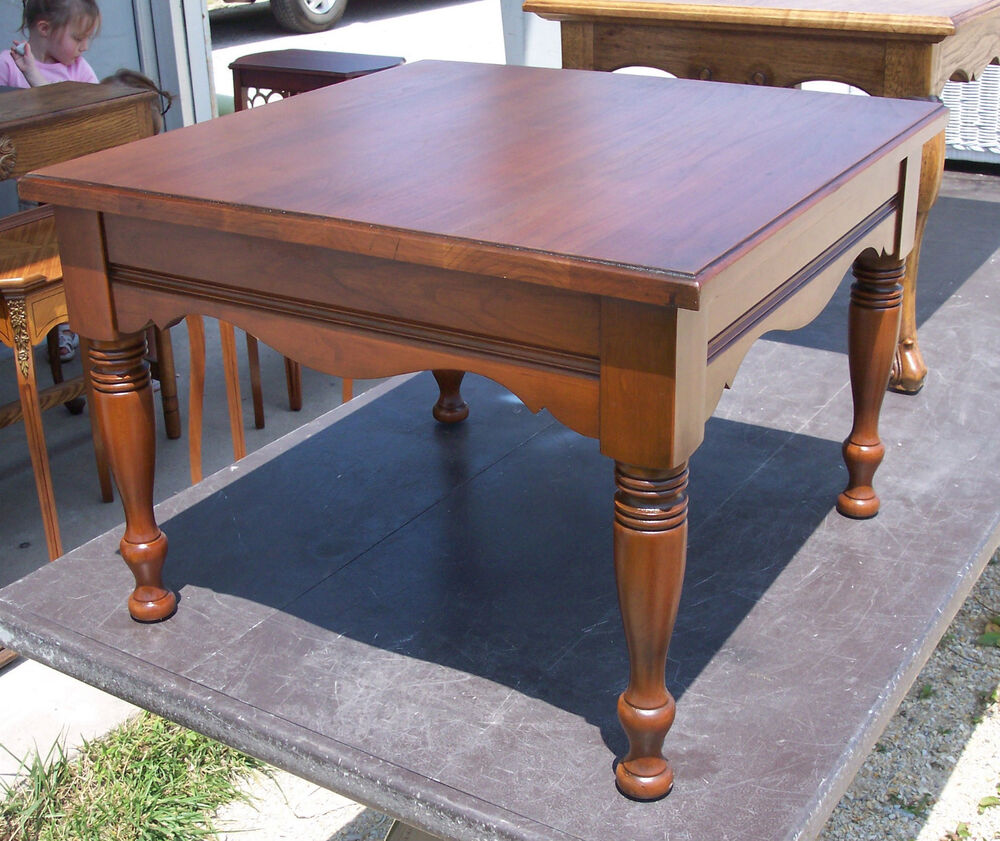 Cherry pennsylvania house coffee table side table ct3 for Coffee tables on ebay