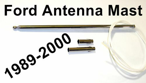 power antenna mast replacement instructions