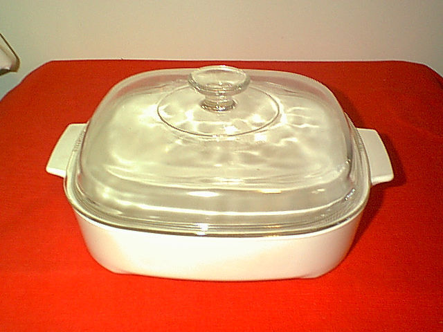 Corning 2 1 2 Qt Dutch Oven Microwave Browning Dish With