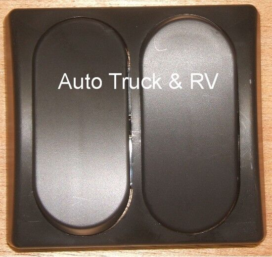 2 Rv On Off 12 Volt Light Switch Black Rasied Motor Home
