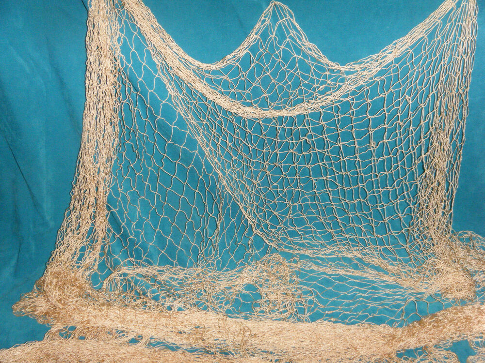 20 x 8 ft fishing net nautical weddings stuffed animals for Fish catching net