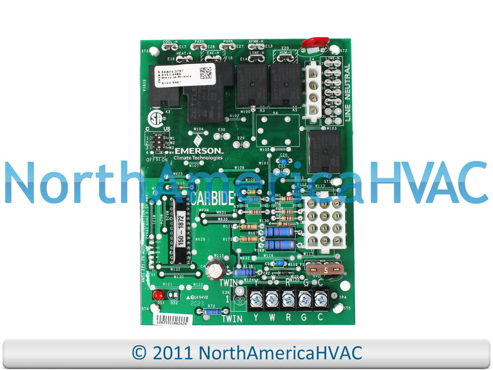s l1000 trane american standard white rodgers furnace control circuit White Rodgers 50A50-241 Control Board at gsmportal.co