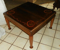 Mahogany Satinwood Rosewood Inlaid Coffee Table  (CT11)