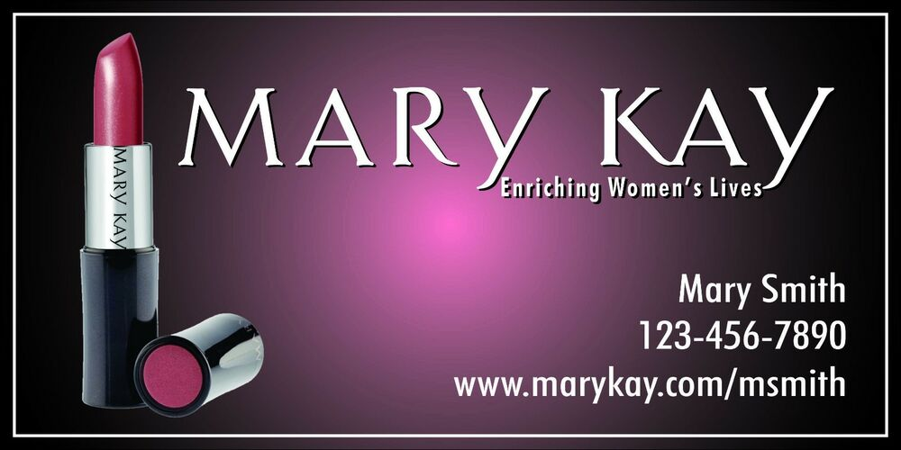 Mary Kay Banner Trade Shows Events 2 X4 With Grommets