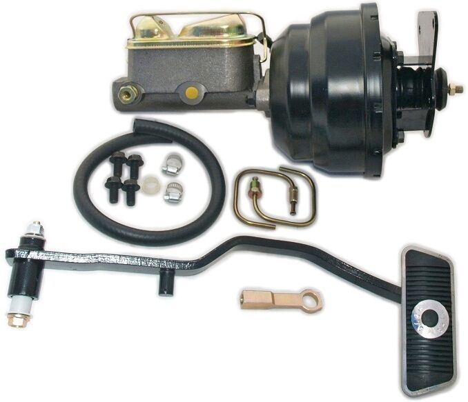 67 70 mustang power brake booster conversion kit for front disc brakes with at ebay. Black Bedroom Furniture Sets. Home Design Ideas