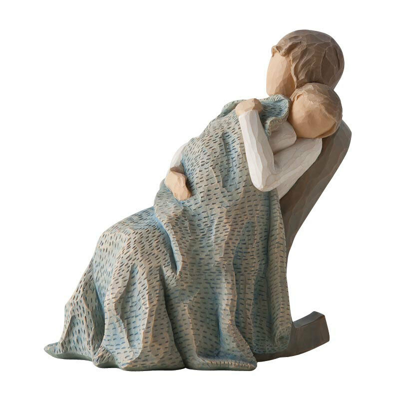 willow tree figurine the quilt mother baby new 14374 ebay. Black Bedroom Furniture Sets. Home Design Ideas