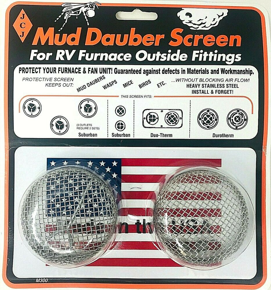 Rv Suburban Duotherm Furnace Screen For Mud Dauber Wasp Duo Therm Troubleshooting Model M300 782232931122 Ebay