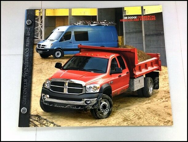 2008 Dodge Commercial Truck 24 Page Sales Brochure